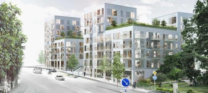 """AB """"Aksa"""" – pagrindinis Švedijoje statomo objekto gelžbetonio tiekėjas"""