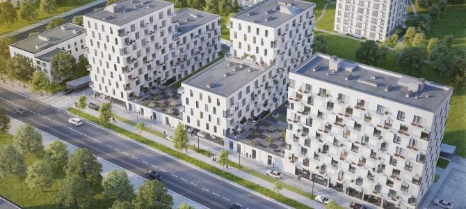 """AB """"AKSA"""" surenkamos gelžbetoninės sienos – daugiabučių kompleksui Vilniuje"""