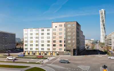 Stapelbädden – AKSA precast for the students apartments