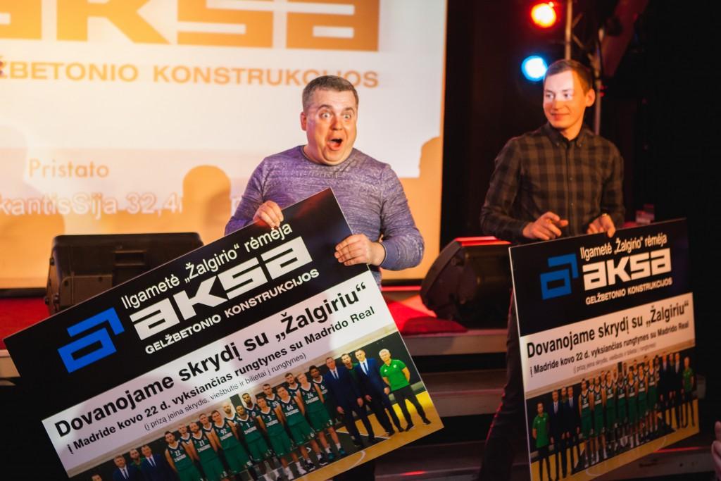 Algirdas Rimša - vos paaiškėjus, kad antros vietos laimėtojas gauna tokį patį prizą kaip ir pirmos