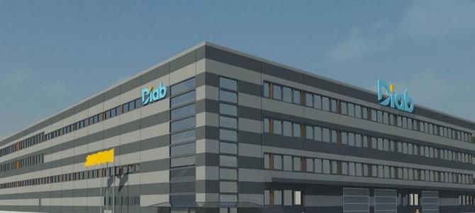 """AB """"AKSA"""" tiekia gelžbetonio gaminius būsimam """"Diab"""" gamyklos pastatui Šiauliuose"""
