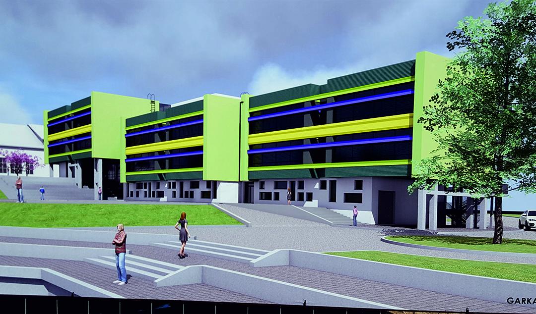 AKSA exporto to Latvia: 22 meters TT slabs for educational building