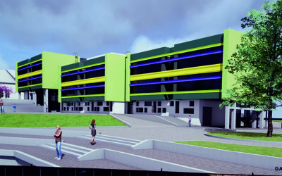 AKSA exporto to Latvia: 22 meters TT slabs for educational building
