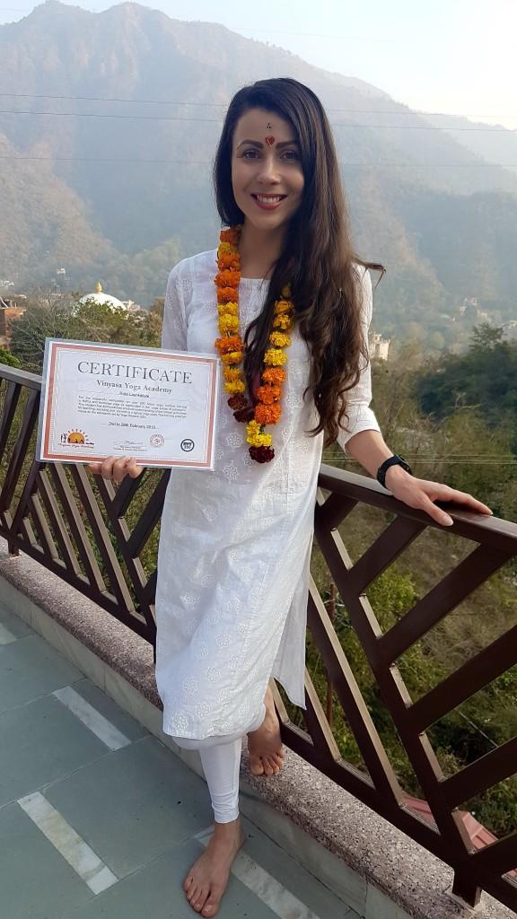 Eksporto vadybininkė Rūta Laurikaitytė - Indijoje sertifikuota jogos mokytoja