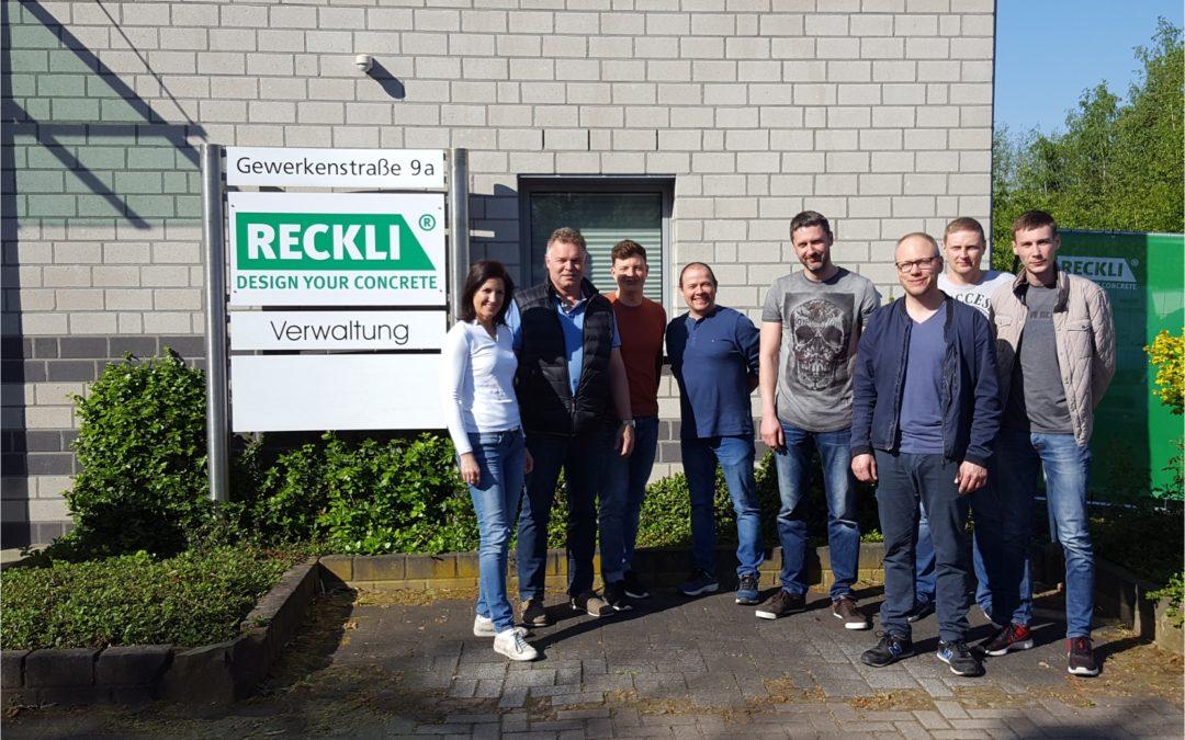 AKSA visited RECKLI trainings in Germany
