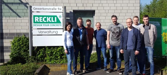 """AB """"AKSA"""" atstovai dalyvavo RECKLI mokymuose Vokietijoje"""