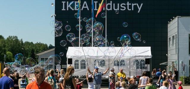 """AB """"AKSA"""" tiekia gaminius UAB """"IKEA Industry Lietuva""""  objektui Kazlų Rūdoje"""