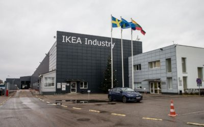 AKSA is currently supplying precast concrete to the industrial building of IKEA